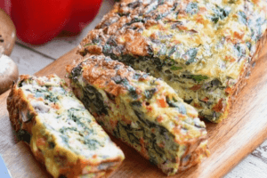 Goat's cheese Fritatta