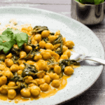 Healthy food inspiration Chickpea Spinach Curry