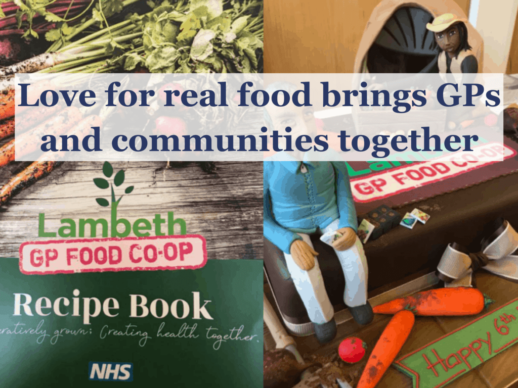 Love for real food brings GPs and communities together