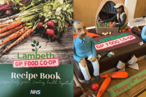 Nutrition and community project brought together in Lambeth GP Food Co-op recipe book