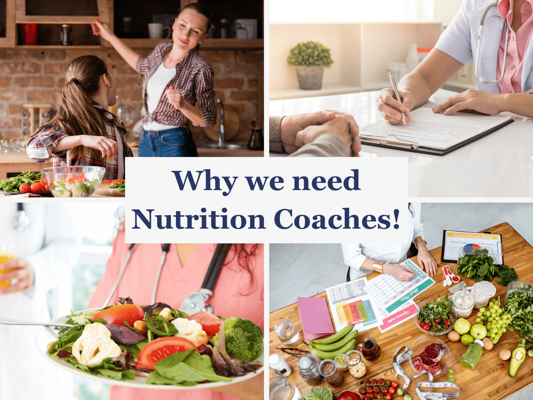 Why we need nutrition coaches
