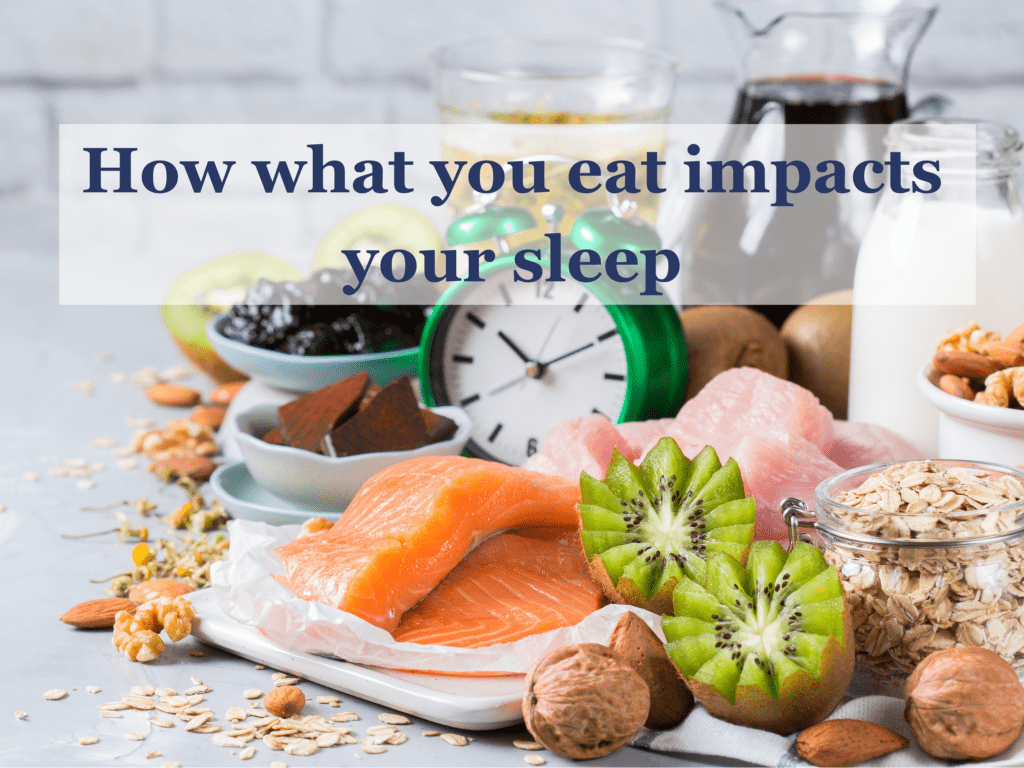 How what you eat impacts your sleep