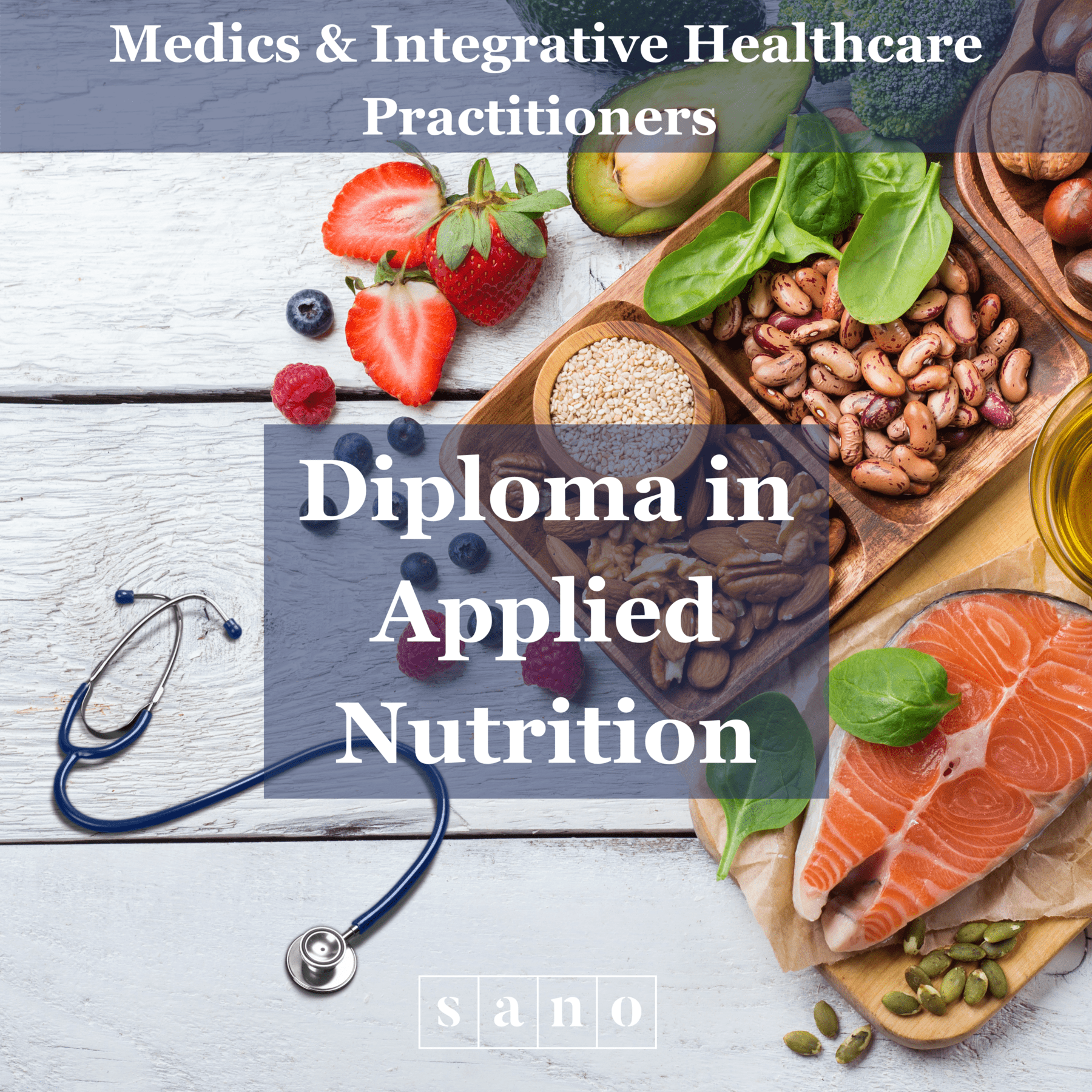 Diploma in Applied Nutrition for Medics & Integrative Healthcare Practitioers