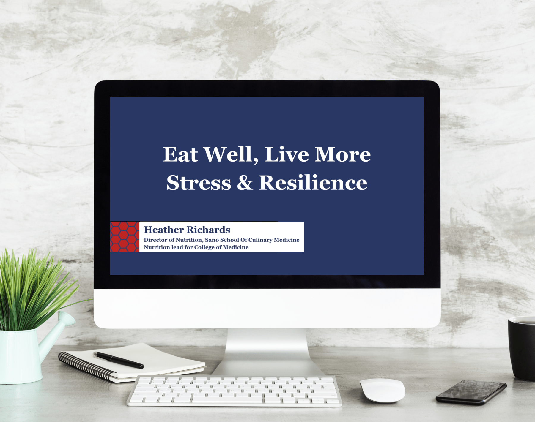 Stress and Resilience webinar