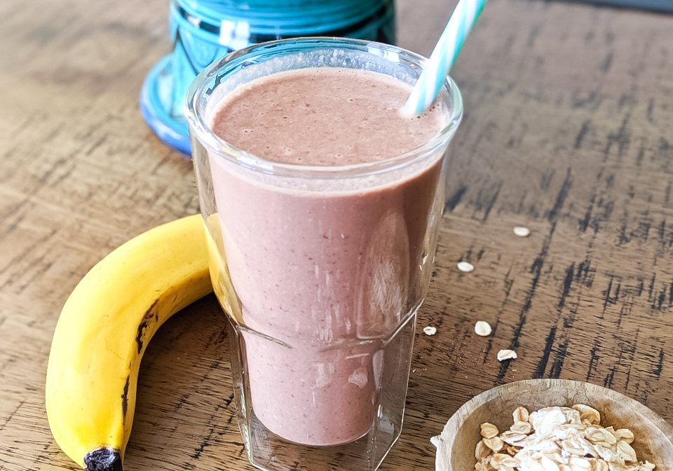 Chocolate Banana Brekkie Smoothie