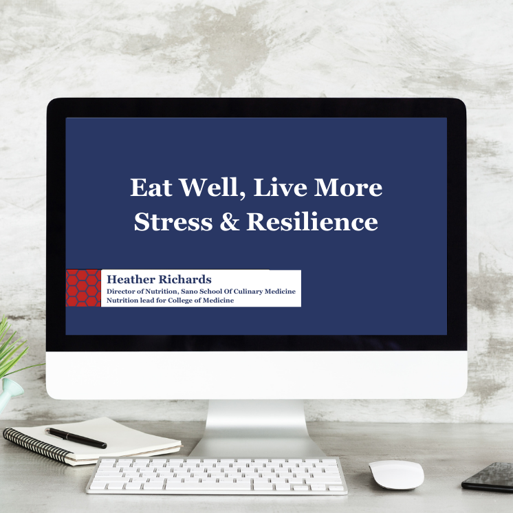 A look at how we can support stress and build resilience through nutrition and lifestyle changes.