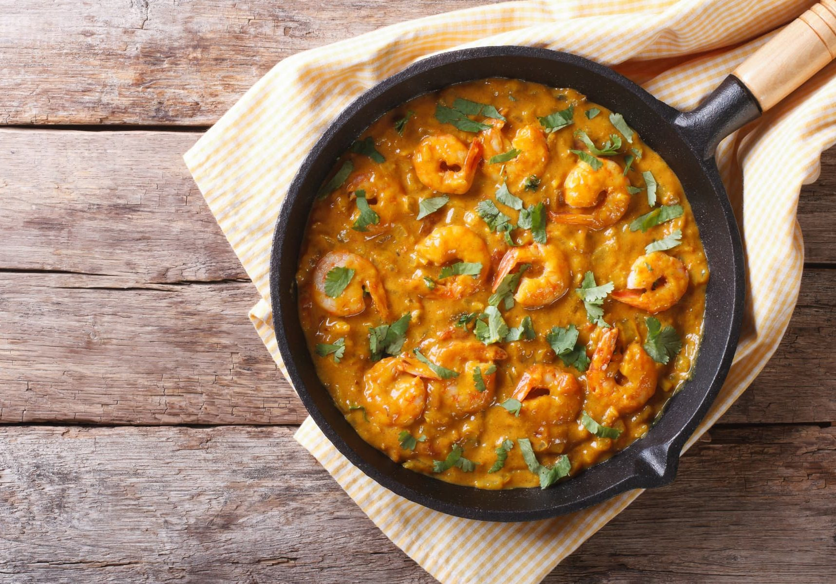 Coconut Prawn Curry