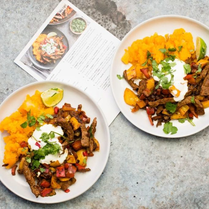 a healthy meal can be quick easy and delicious.Mexican Beef & Squash Mash
